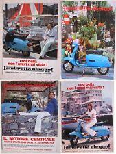 advertising pubblicità werbung serie 1978 LAMBRETTA  Elegant 150 DL