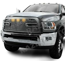 10-18 Dodge Ram 2500+3500 Big Horn II+3x LED Matte Black Packaged Grille+Shell