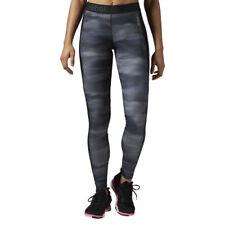 Women's Reebok Workout All Camo Tight Leggings SpeedWick Training Running Gym