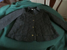 J.Jill Women's Black Heritage Quilted Jacket Size M