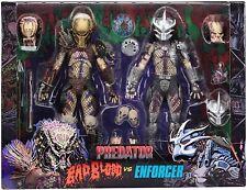 NECA Ultimate Bad Blood & Enforcer 20cm Action Figure Predator - 2 Pack