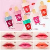 Ice Cream Shape Lip Gloss Matte Lip Tint Long Lasting Liquid Lipstick Cosmetics