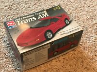 1997 Pontiac Firebird Trans Am Model Car Kit NEW Sealed inside AMT ERTL 1/25