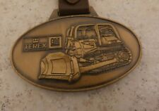 Motors-Bulldozer Pocket Watch Fob Vintage Terex Division of General
