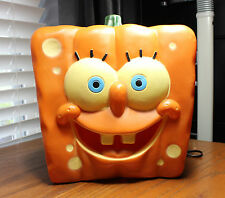 SPONGEBOB SQUAREPANTS HALLOWEEN PUMPKIN HEAD BLOW MOLD LAMP
