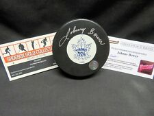 JOHN BOWER, Toronto Maple Leafs, Hand Signed Vintage Puck with COA