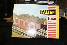 Vintage Faller  HO, B-158, Maintenance Shed, NOS, Complete Made Germany (shelf)