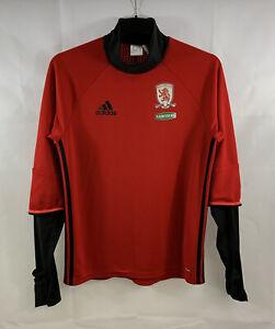 Middlesbrough Training Football Top 2015/16 Adults Medium Adidas F931