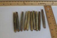 "6 pc,Bone and wood redish top Hair Pin long, 150 mm Size 6 /"""
