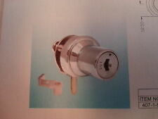 Chrome Glass Cabinet Door Lock No Drill Style C407-1-5-110---keyed the same