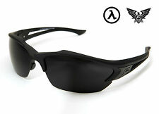 EDGE TACTICAL EYEWEAR ACID GAMBIT BLACK / G-15 VAPOR SHIELD LENS - SG61-G15