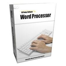 Word Processor Processing Software Compatible With MS Microsoft Word 2007 2010