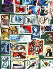 collezione RUSSIA LOTTO 30 FRANCOBOLLI Stamps - Timbres - Briefmark