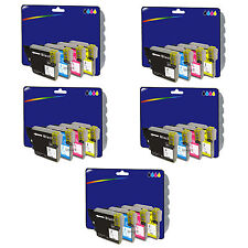 5 Sets of Compatible Printer Ink Cartridges for Brother MFC-J6510DW [LC1280]
