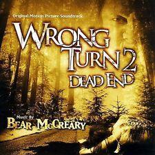 Wrong Turn 2 Dead End - Bear McCreary SEALED CD!