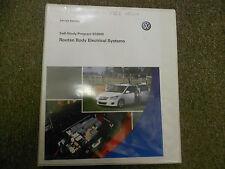2008 VW Routan Body Electrical System Service Training Self Study Program Manual