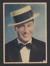 """Maurice Chevalier 1936 Nestle Stars of the Silver Screen Card #2 4""""x6"""""""