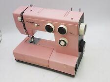 Vintage Riccar 3600 Pink Sewing Machine E21129 115V 1A 60Hz Sew Stitch Project