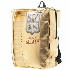 *NEW* The Legend of Zelda: NES Gold Cartridge Backpack by Bioworld