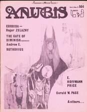 ANUBIS #3 - 1968 science fiction fanzine - Roger Zelazny, Tim Kirk