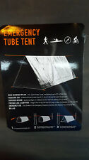 Emergency Tube Tent with All Weather Emergency Bag, Blanket, & Rope