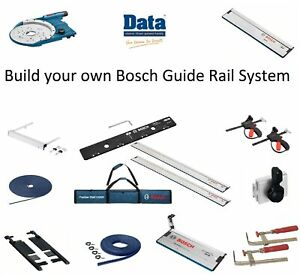 Bosch FSN Guide Rail Accessories - Build Your Own System