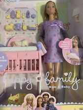 Mattel Happy Family Pregnant Midge and Baby Barbie Doll 2002 Htf Nib