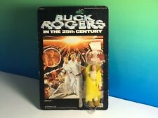 VINTAGE BUCK ROGERS 25TH CENTURY ACTION FIGURE TOY 1979 MEGO MOC DRACO YELLOW