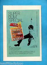ALTOP972-PUBBLICITA'/ADVERTISING-1972- EDISON GIOCATTOLI - SUPER BUM SPECIAL