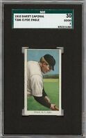 1909-11 T206 Clyde Engle Sweet Caporal 350 New York SGC 30 / 2 GD