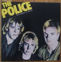 THE POLICE Outlandos  d' Amour LP Vinyl Record yellow cover play graded EX-NM
