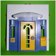Playmobil - kompletter Eingang Tür aus 3965 - mit Vordach und Lampen - System X