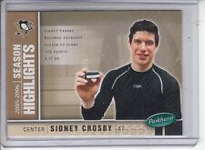 05/06 Parkhurst Pittsburgh Penguins Sidney Crosby Season Highlights card #586