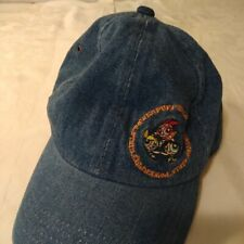 Vintage Power Puff Girls Embroidered Logo Denim Strap Back Hat