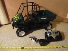 Rare! Radio Control Kawasaki Mule, Utility 4 wheeler, by Planet Toys. Works!