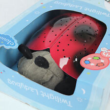 Cloud B Twilight Ladybug Nightlight Star Projector Constellations Ages 0+ NIB
