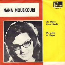 """NANA MOUSKOURI – Die Worte Dieser Nacht (EUROVISION 1963 SINGLE 7"""" DUTCH PS)"""