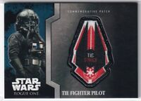 2016 Star Wars Rogue One Mission Briefing Patches #6 TIE Fighter Pilot