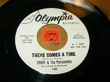 TIMMY & THE PERSIANETTS - THERE COMES A TIME - TIMMY BOY / LISTEN - SOUL POPCORN