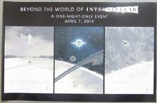 """Interstellar - Movie Poster - """"Beyond the World"""" - 11X17"""" - Rare Art Collage"""