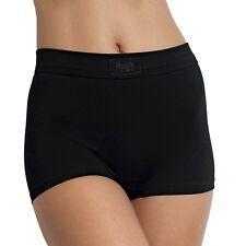 sloggi Womens Double Comfort Short Brief Black 2164 14