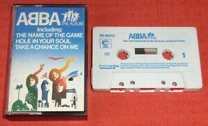 ABBA - UK CASSETTE TAPE - THE ALBUM