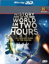 History of the World in Two Hours (Blu-ray Disc, 2012, 3D)