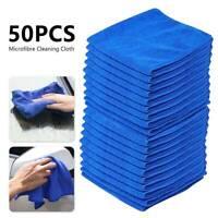 50PCS Microfibre Cloth Cleaning Microfiber Dish Car Gym Towel Glass Bulk MY