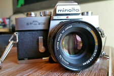 Vintage Minolta SRT202 with Minolta MD Rokkor-X 50mm F1.7 Lens