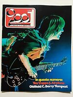 RARE CIAO 2001 16-1974 +POSTER YES - STEVE HOWE - MIKE OLDFIELD - CHUCK BERRY