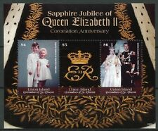 Union Island Gren St Vincent 2019 MNH Queen Elizabeth II Coronation 3v MS Stamps