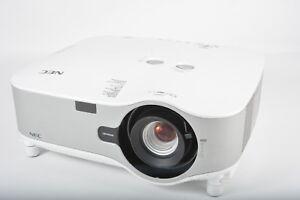 NEC MT1060 Digital Projector 1539 Lamp hours
