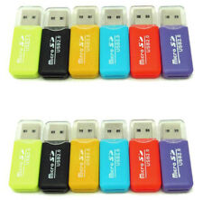 12X Micro SD SDHC SDXC TF T-Flash Memory Card Reader USB 2.0 Adapter 12pcs.