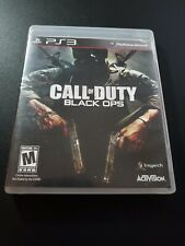 Call Of Duty Black Ops I 1 Original Release Sony Playstation 3 PS3 LN COMPLETE